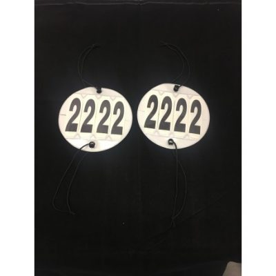 4 Digit Competition numbers-Set of 2
